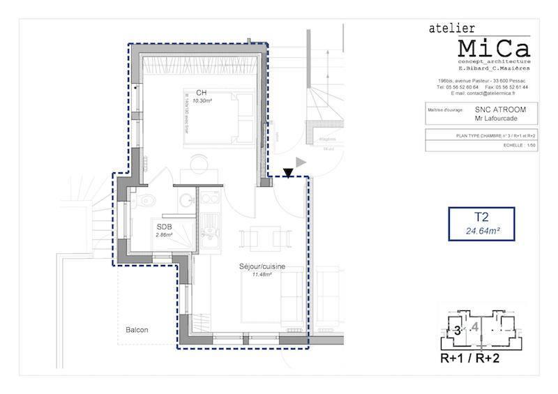 talence location meubl e longue dur e deux pi ces de. Black Bedroom Furniture Sets. Home Design Ideas